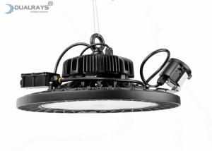 China Parking Lot UFO LED High Bay Light 100W 200W 32000LM 5 Years Warranty High Power Luminaire on sale
