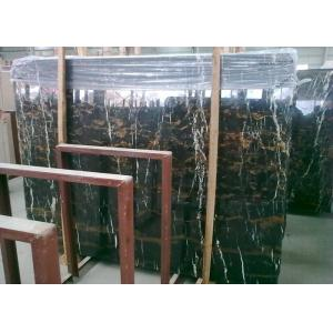 China Pre Cut Black Marble Vanity Countertops , Potoro Wall Mounted Marble Bar Counter on sale