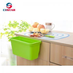 China Creative Multifuctional Plastic Kitchen Hanging Food Waste Garbage Bowl Bin Rubbish Organizer Trash Junk Box on sale