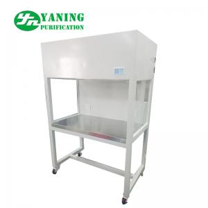 China Single Person Vertical Laminar Clean Bench Powder Coating Steel Sliding Door on sale