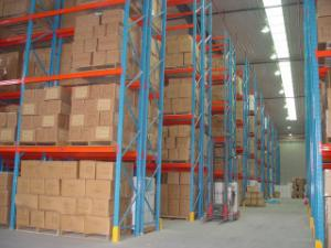 China Narrow Aisle Pallets Racking Equipments on sale