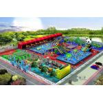 Outdoor Giant Waterproof PVC Inflatable Water Parks For Entertaint