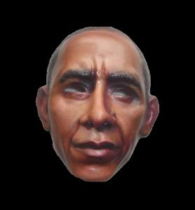 China Obama man mask on sale