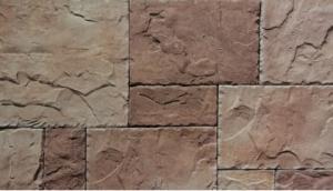 China Villa Artificial Culture Stone Cement Castle Stone Faux Rock For Faux Slate Veneer on sale