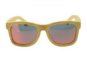 China Señora de madera modificada para requisitos particulares polarizada Size Lightweight de las gafas de sol del marco de la marca on sale