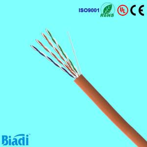 China cable utp cat5e color code 24awg 4 pair 305m 1000ft china exporter on sale