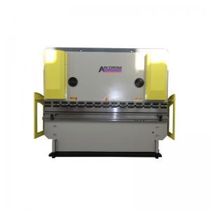 China Multifunctional CNC Busbar Bending Machine/Metal Press Brake WF67Y 125Ton 2500/Anhui Press Brake on sale