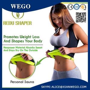 5914ad5d6e ... Quality Women s Hot Shapers Shirt - Redu Shaper Belt Tecnomed Thermo  Slimming for sale ...