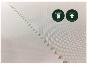 China Dobby Recycled Plastic Bottle Fabric , Fabric Made From Recycled Plastic Bottles on sale