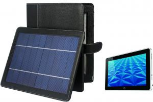 China Grain leather 5v DC USB Solar Charger Case for HP Slate 500 Tablet PC Accessories on sale