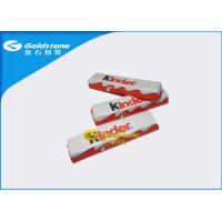 China Aluminum Chocolate Foil Wrappers , Candy Bar Foil Wrappers / Squares For Wrapping Chocolates on sale
