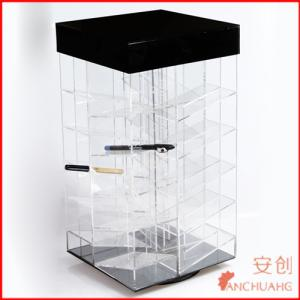 China acrylic nail polishing display_display case_display box_display container on sale