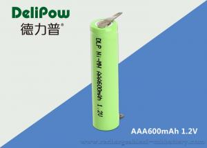China Delipow Aaa 600mah Rechargeable Batteries , 1.2 V Rechargeable Batteries Nimh on sale