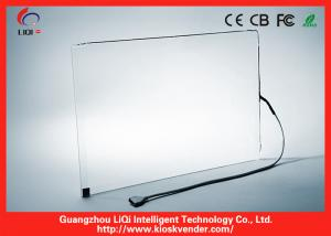 China SAW / IR Multitouch Touch Screen Panel RS232 Interface For Digital Signature on sale