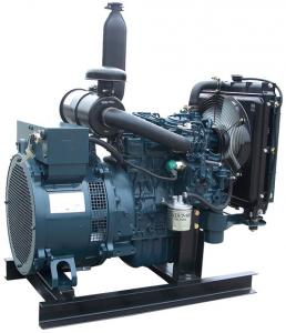 China 6kw to 30kw water cooled engine small marine diesel generator on sale
