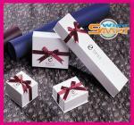 El diseño moderno de papel simple, estilo con clase, Archaize las cajas de joyería de empaquetado del estilo para el colgante, collar, anillo