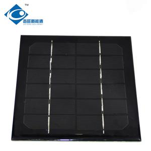 China 6V High Efficiency 2.75W solar panel photovoltaic For electric bike solar charger ZW-166151 on sale