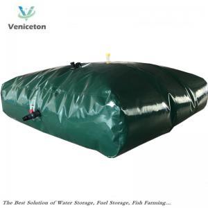 China Veniceton  flexible 5000 Liters water storage tank for rain water storage in Belgium on sale