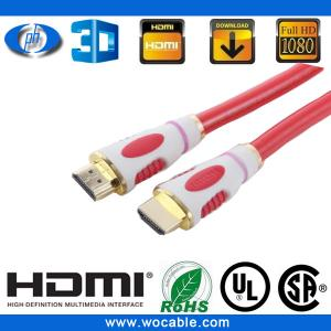 China 3d hdmi cable 1.4 with ethernet 1080p on sale