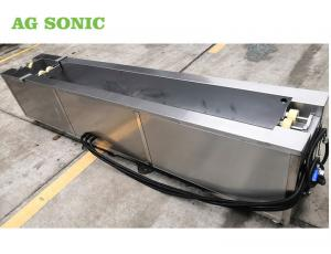 China Flexographic Anilox Rolls Industrial Ultrasonic Washing Machine With Rotating System on sale
