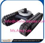 China rubber undercarriage/Rubber Track Undercarriage with Rotary Bearing wholesale