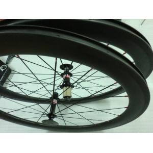 Quality 700C 56mm 27.5mm width Aero Carbon Road Bike Rims , Shimano / Campaglono Hub Type for sale
