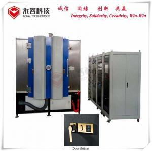 China Door Fitting Titanium Coating Machine Cathodic Multi Arc Plating Vacuum Technology on sale