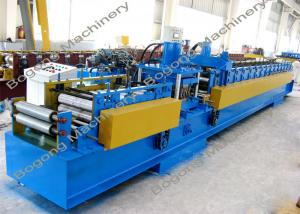 China Pre - Punching C Purlin Roll Forming Machine With Cr12 Steel Blade Heavy Duty on sale