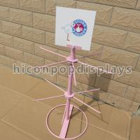 Metal Wire Table Top Retail Hanging Display Shelf For Kids Toys