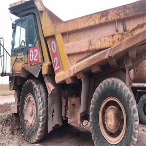 China komatsu japan used original  8x4 eu 2 used heavy duty dump truck/tipper for sale on sale