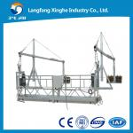 ZLP suspended wire rope platform / electric cradle / constructin gondola
