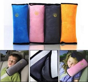 China Car seat belt cushion,kids & adults neck protect,travel driving and rest plush cushion on sale