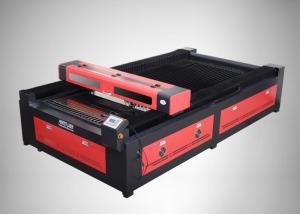 China Large Scale Textile Fabric Garment  CO2 Laser Engraving Machine , PEDK-130250 Laser Cutting Machine on sale