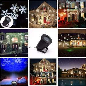 China Waterproof Outdoor Christmas Lights Elf Laser Projector Red Green Moving Lights led landscape lamp on sale