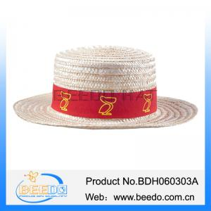 ... Quality Made in china natural wheat straw men hats and caps for sale ... 808190acd604