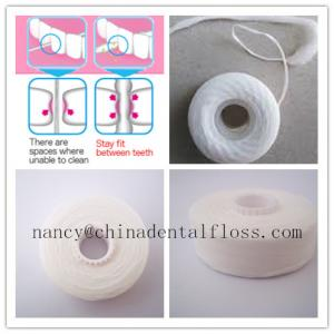China refilled/replacement dental floss rolls expanding dental floss spools on sale