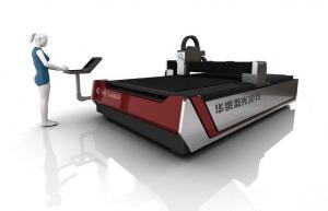 China 2000W Sheet Metal CNC Fiber Laser Cutting Machinery High Precision 3000 X 1500 mm on sale