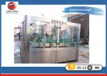 China 3 In 1 Purified Drinking / Mineral Water Auto Water Filling Machine Washing Filling Capping  Machine wholesale