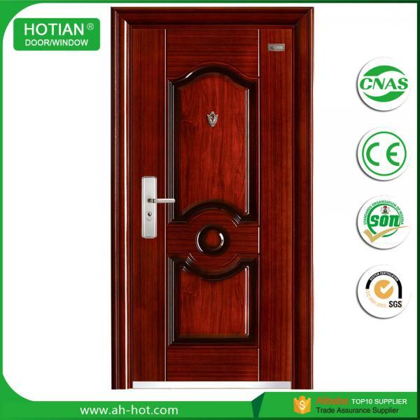Exterior Steel Door With Mul T Lock China Turkish Steel Security