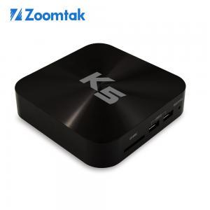China Zoomtak K5 amlogic s805 quad core android tv box kodi xbmc quad core smart tv box android 4.4 wifi tv box on sale