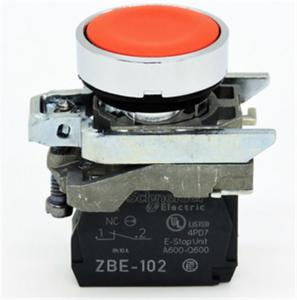 China XB4-BA42 Modular Metal Push Button Electrical Switch For Machines And Control Panels on sale