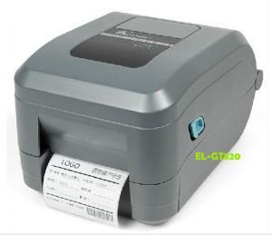 China Zebra GT820 Desktop Barcode Label Printer Stickers Trademark Label Barcode Printer 203dpi on sale
