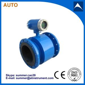China digital electromagnetic water flow meter with Modbus commnuication protocol on sale
