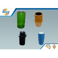 High Pressure Drilling Mud pump Ceramic Sleeve Liner / Double Metal Liner