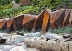 China Corten Steel Sculpture Outdoor Decoration Metal Art Sculpture wholesale
