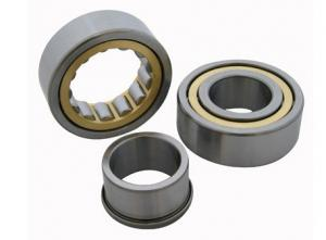 China Automotive Cylindrical Roller Bearing Brass Nylon Steel Cage nj2209 ecm/c3 on sale
