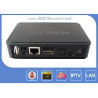Linux MAG250 Android Smart IPTV BOX Engima2 1080p 720p 576p For Europe