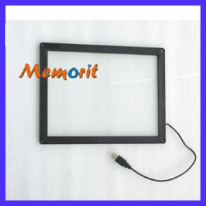 China 15 Inch Vandal Proof Infrared Planar Touch Screen For LCD Monitor For Indoor/Outdoor Kiosk on sale