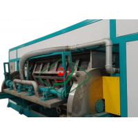 6000Pcs/H Automatic Recycled Paper Egg Tray Machinery Rotary Forming