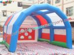 China Commercial grade PVC tarpaulin Outdoor Blow up Football Inflatable Sports Games for Rent wholesale